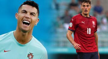 EURO 2020'de çifte gol kralı: Ronaldo ve Patrik Schick
