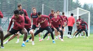 Hatayspor yeni sezon hazırlıklarına Düzce'de devam ediyor
