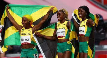 Atletizme Jamaika damgası! Olimpiyat rekoru