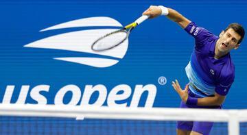 ABD Açık'ta Novak Djokovic, tek kadınlarda ise Bianca Andrescu üst tura çıktı