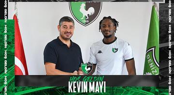 Son dakika haberi: Bekir Turaç Böke ve Kevin Mayi, Denizlispor'la anlaştı