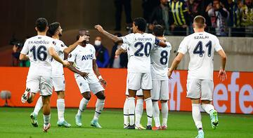 Fenerbahçe hücumda UEFA Avrupa Ligi'nin en iyisi oldu