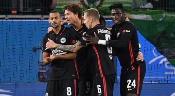Son dakika haberi: Eintracht Frankfurt, Wolfsburg deplasmanından 1 puanla döndü