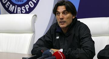 Montella'dan Beşiktaş maçı açıklaması
