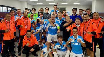 UEFA Gençlik Ligi'nde Trabzonspor ikinci tura çıktı