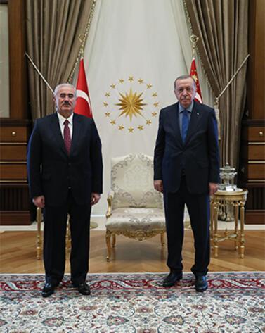 Son dakika I Cumhurbaşkanı Erdoğanın Ankara mesaisi başladı Beştepeden ilk kare
