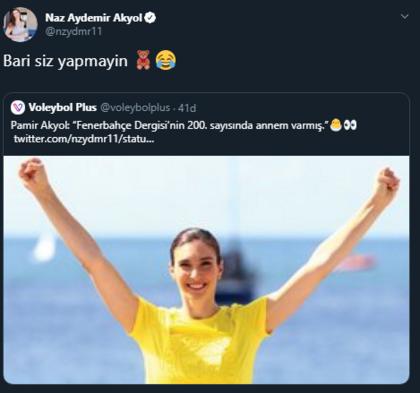 Naz Aydemirin sosyal medya hesabı oğlunun eline geçti
