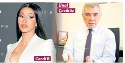 CARDI B, ÖZÜR DİLEDİ SIRA ÜNAL ÇEVİKÖZ'DE