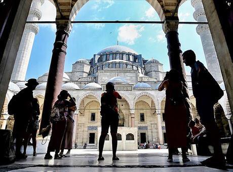 Yabancı ziyaretçi sayısı açıklandı