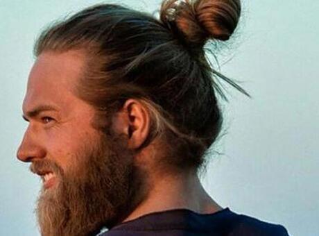 2020 Erkek Uzun Saç Kesim Modelleri - Düz Ve Kıvırcık Saçlar İçin Dalgalı, Bağlamalı, Topuz Saç Modelleri