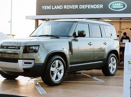 Yeni Land Rover Defender Bodrum'da!