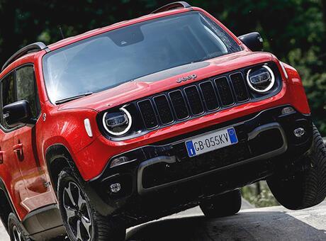 Almanya'da ödüller Jeep'e!