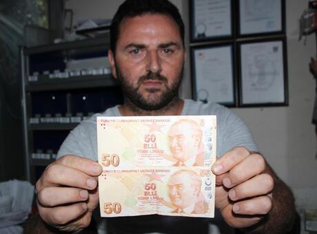 50 lirasına 75 bin lira istiyor! Gören şaşırıyor