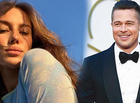 Brad Pitt sevgilisi Nicole Poturalski ile evlenecek mi?
