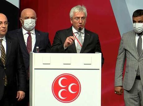 Son dakika... MHP İstanbul İl Başkanlığı'na Birol Gür yeniden seçildi