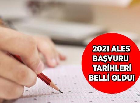 2021 ALES sınavı ne zaman gerçekleştirilecek? ALES sınavı için başvurular ne zaman alınacak?