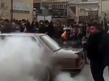 Ankara'da drift partisinde kullanılan 26 araç trafikten men edildi