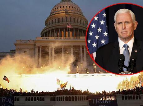 Kongre baskınında Pentagon'u aramış! 'Burayı temizleyin'