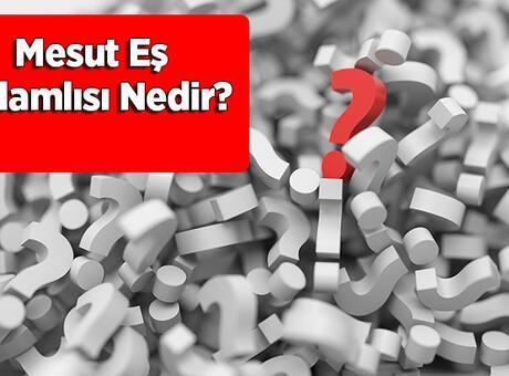 Mesut Eş Anlamlısı Nedir? Mesut Kelimesinin Eş Enlamı Olan Sözcükler