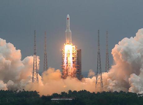 Son dakika: Çin'in başıboş roketi sonunda düştü!