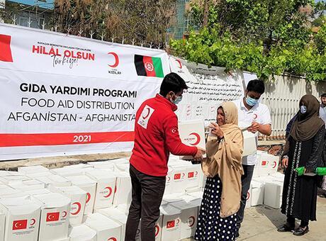Kızılay'dan 10,8 milyon kişiye Ramazan yardımı