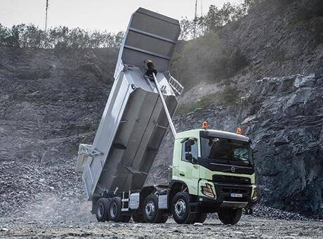 Volvo FMX'in tanıtımı gerçekleşti