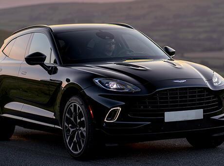 Aston Martin'in ilk SUV'u DBX'ten yeni renkler