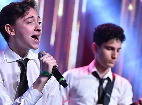Liselerarası müzik yarışmasında final oylaması heyecanı