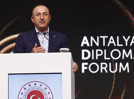 Bakan Çavuşoğlu: Dışişleri bakanlarının 5'te 1'i ADF'ye katıldı