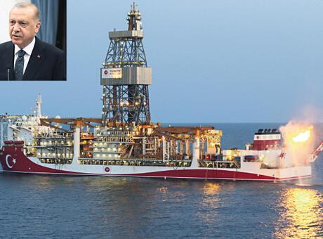 Karadeniz gazının ilk ateşi yandı