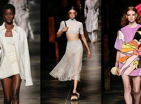 Milan Moda Haftası: Fendi İlkbahar/Yaz 2022 defilesinden satır başları