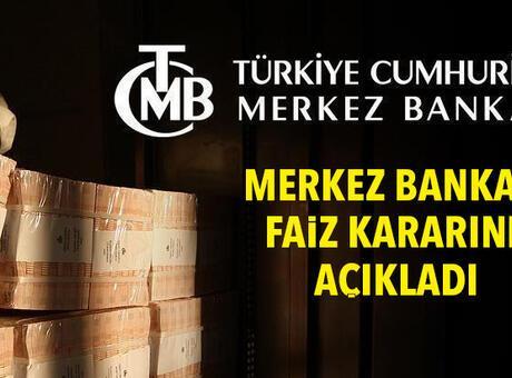 SON DAKİKA | Merkez Bankası faiz kararı belli oldu! PPK faizi kaç oldu?