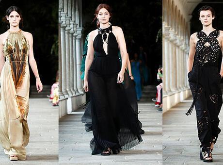 Milan Moda Haftası: Alberta Ferretti İlkbahar/Yaz 2022 defilesinden satır başları