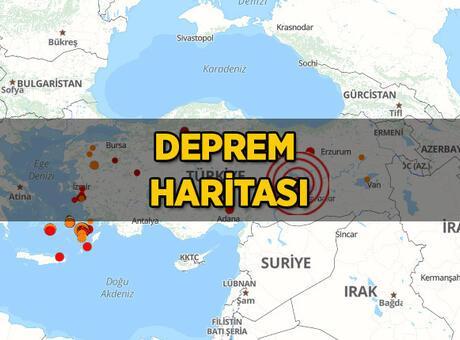 Az önce deprem mi oldu? 27 Eylül son depremler: Girit Adası'nda deprem