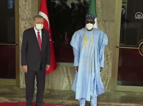 Son dakika! Cumhurbaşkanı Erdoğan Nijerya'da