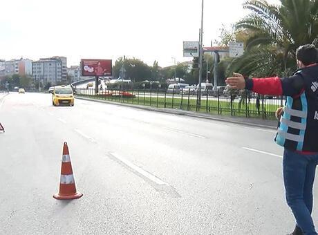 Fatih'te sivil polisi almayıp, müşteri seçen taksiciye ceza