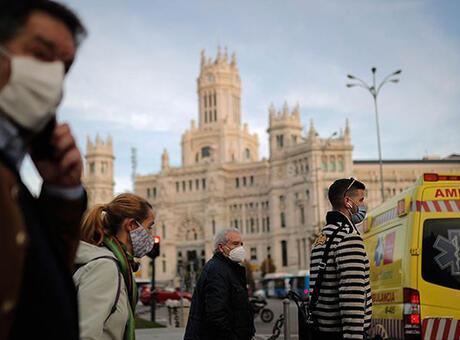 Avrupa'da koronavirüs vakaları bir haftada yüzde 7 arttı