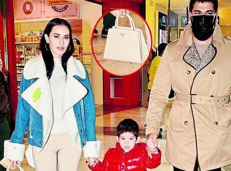 Fahriye Evcen'in çantasının fiyatı dudak uçuklattı