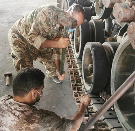 MSB: Libya Silahlı Kuvvetlerine yönelik eğitimler devam ediyor