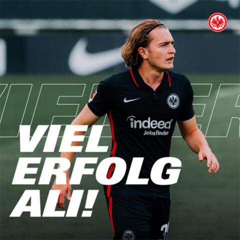Son dakika haberi - Eintracht Frankfurt Ali Akmanı Nijmegene kiraladı