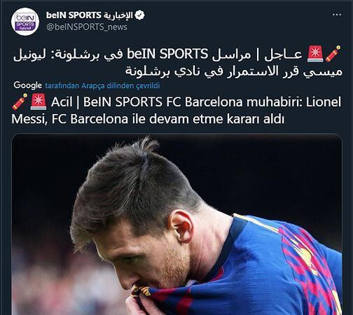 Lionel Messi, Barcelonada kalmaya karar verdi