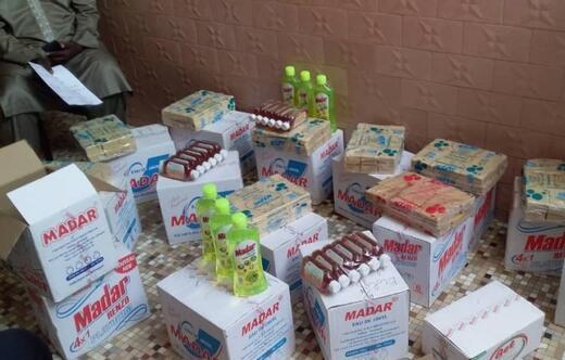 Badou Ndiayeden ülkesine yardım