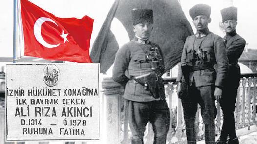 9 Eylül 1922de göndere çekilen bayrağın hikayesi