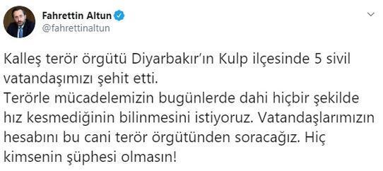 Son dakika Hain saldırı PKK köylülere saldırdı, 5 şehit
