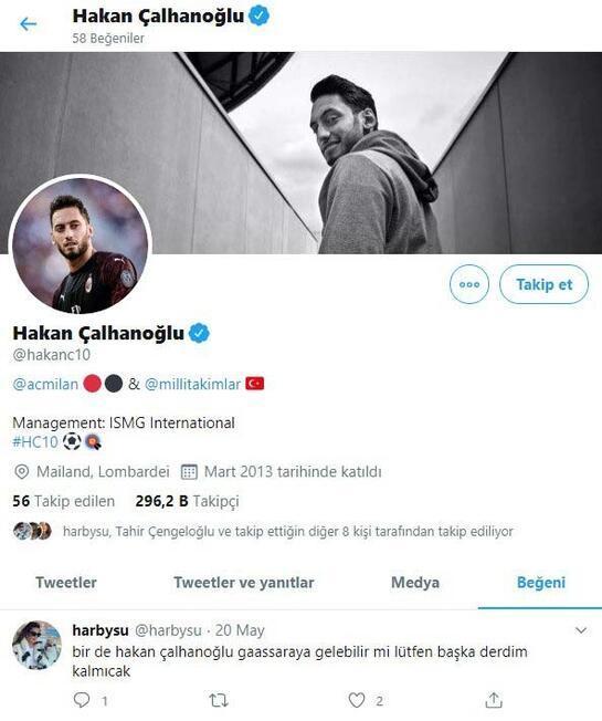 Hakan Çalhanoğlundan şaşırtan Galatasaray hamlesi