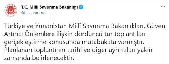 Türkiye ve Yunanistandan flaş mutabakat kararı