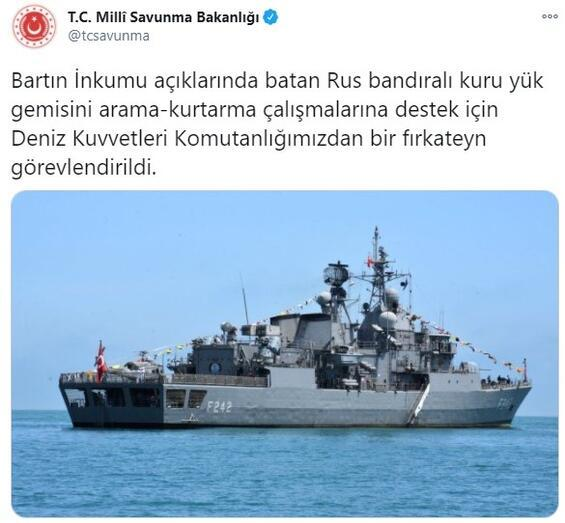Son dakika... Bartın açıklarında Rus gemisi battı Acı haberler peş peşe geldi