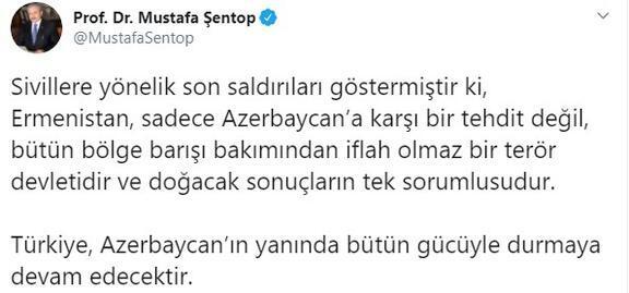 Son dakika... Azerbaycana saldırıya Türkiyeden peş peşe tepkiler