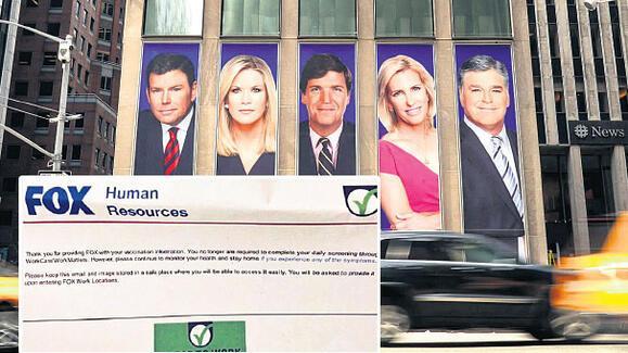 Aşı karşıtı Fox Newste çalışanlara aşı mecburi