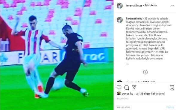 Sivasspor'dan hakem hatalarına tepki